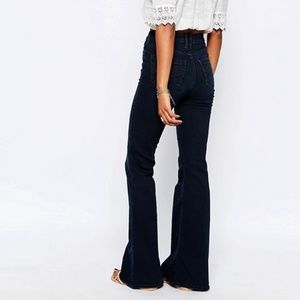 Abercrombie Black Flare Jeans